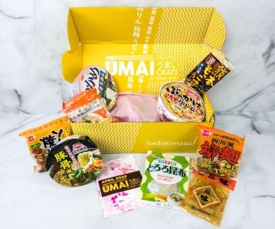 Umai Crate April 2020 Subscription Box Review + Coupon