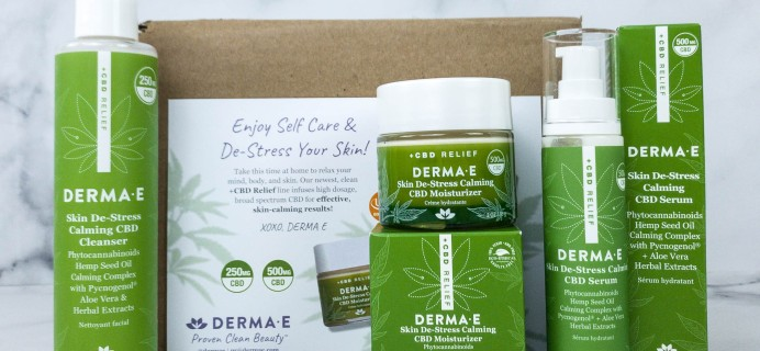 Derma-E +CBD RELIEF Collection Review