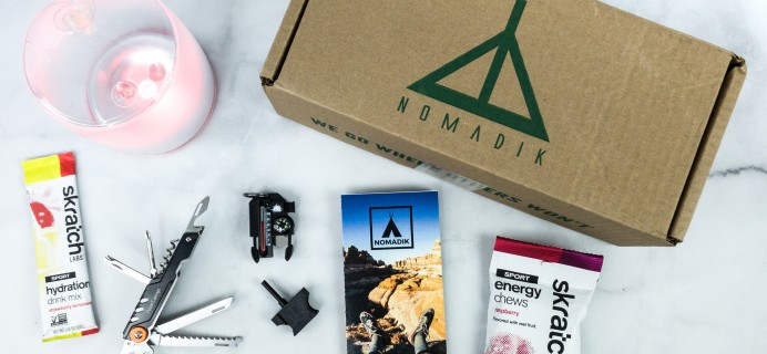 Nomadik June 2020 Subscription Box Review + Coupon
