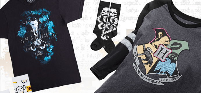 Loot Wear Wizarding World Wear Available Now + Coupon!