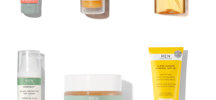 Lookfantastic x REN Skincare Limited Edition Beauty Box Coming Soon + Full Spoilers!