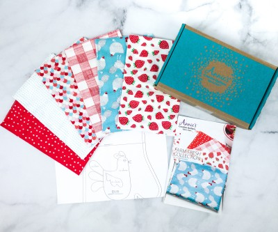 Annie's Creative Quilters Fabric Club Unboxing Review + Coupon – FARM FRESH COLLECTION