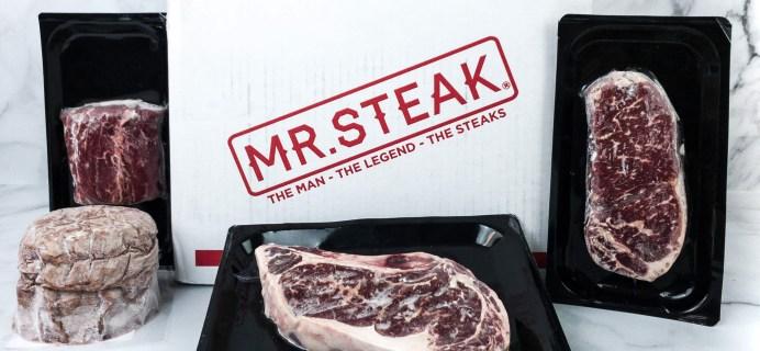 Mr. Steak Subscription Box Review + Coupon