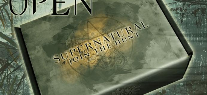 Supernatural Box Summer 2020 Sales Open Now!