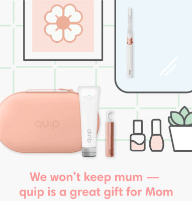 Quip Mother's Day Sale: Get 20% Off on Select Sets, Refills, & Bags!