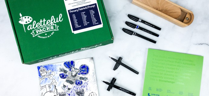 Paletteful Packs Review + Coupon – Penuary Challenge