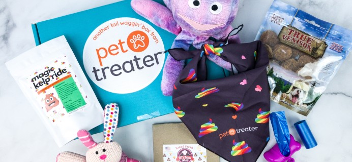 Pet Treater Deluxe Dog Pack April 2020 Subscription Box Review + Coupon – Small Dog
