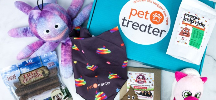 Pet Treater Deluxe Dog Pack April 2020 Subscription Box Review + Coupon – Large Dog