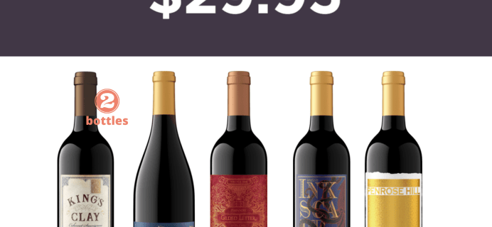 Firstleaf Wine Club Coupon: Get Classic Reds Bundle For Just $29.95 + FREE Shipping!