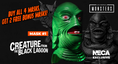 Loot Crate Limited Edition Universal Monsters Mask Series Available Now!