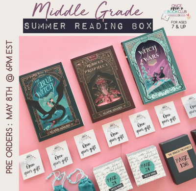 Once Upon a Book Club Limited Edition Middle Grade Summer Reading Box Available Now + Coupon!