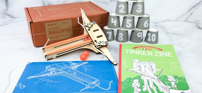 KiwiCo Tinker Crate Review & Coupon – BALLISTA