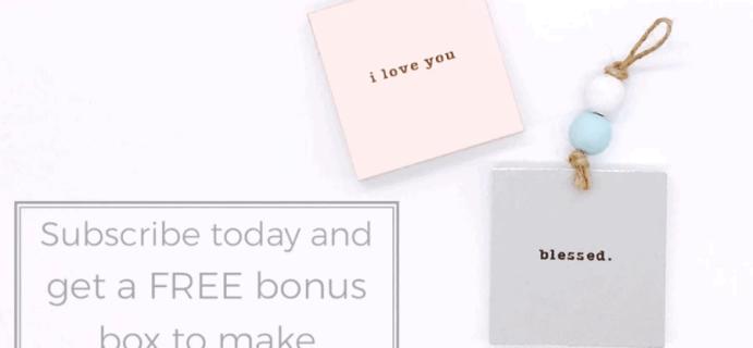Confetti Grace Coupon: FREE Bonus Box With Subscription!