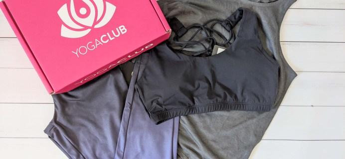 YogaClub Subscription Box Review + Coupon – April 2020