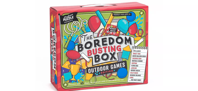 Professor Puzzle Outdoor Boredom Busting Box Available Now at Target!