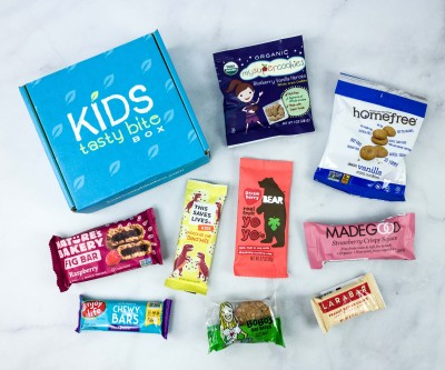 Kids Tasty Bite Box May 2020 Subscription Box Review + Coupon