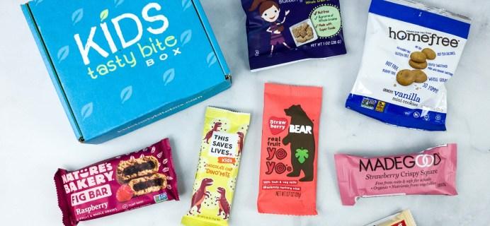 Kids Tasty Bite Box May 2020 Subscription Box Review + Coupon