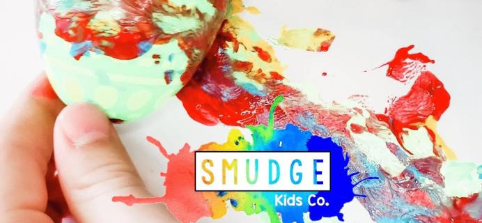 Smudge Kids Co – Review? Kids Art Subscription!