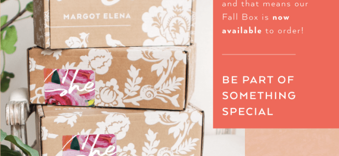 Fall 2020 Margot Elena Discovery Box Available Now