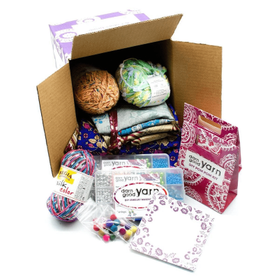 Darn Good Yarn Kids Craft Explorer Box Available Now + Coupon!