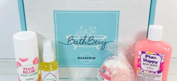 Bath Bevy May 2020 Subscription Box Review + Coupon