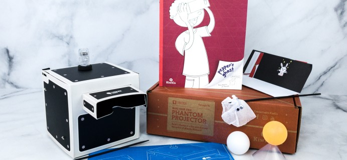 KiwiCo Tinker Crate Review & Coupon – PHANTOM PROJECTOR