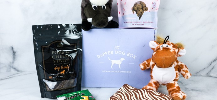 The Dapper Dog Box May 2020 Subscription Box Review + Coupon