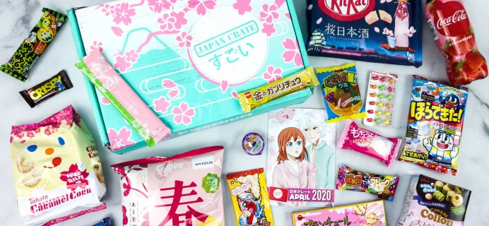Japan Crate April 2020 Subscription Box Review + Coupon