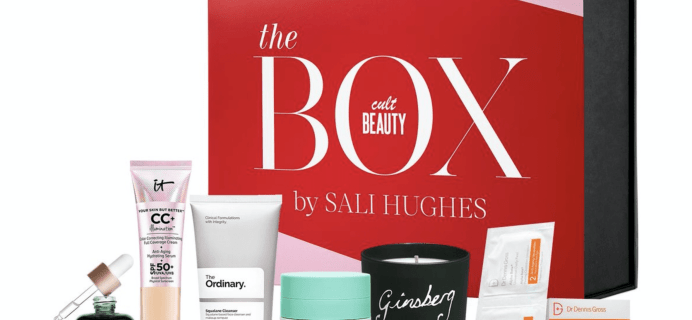 The Cult Beauty Box by Sali Hughes Available Now + Full Spoilers!