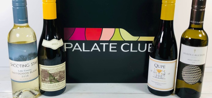 Palate Club Review + Coupon – White Sampler