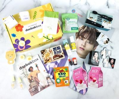Daebak Box Spring 2020 Subscription Box Review + Coupon