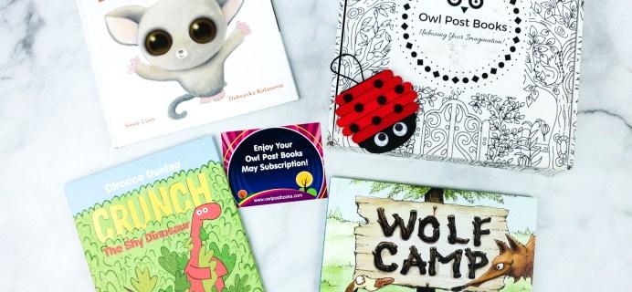 Owl Post Books Imagination Box May 2020 Subscription Box Review + Coupon