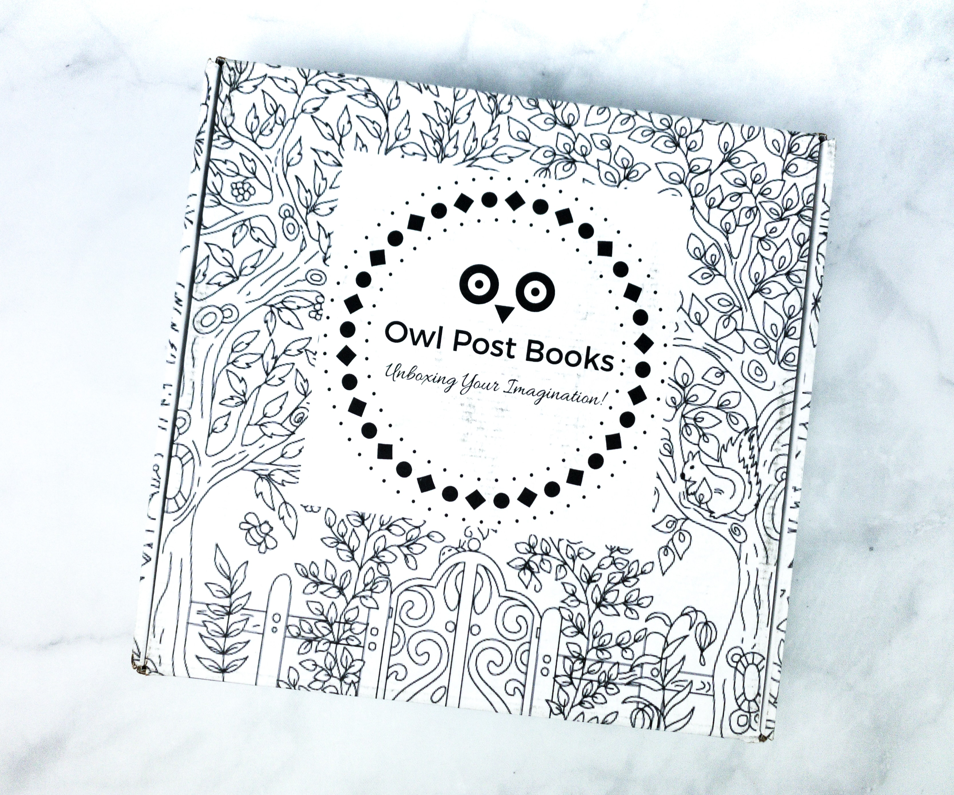 Owl Post Books subscription box for kids