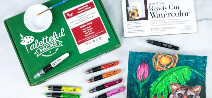 Paletteful Packs Review + Coupon – Marabu Art Crayons