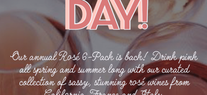PLONK Wine Club Summer 2020 Rosè 6-Pack Available Now + Coupon!