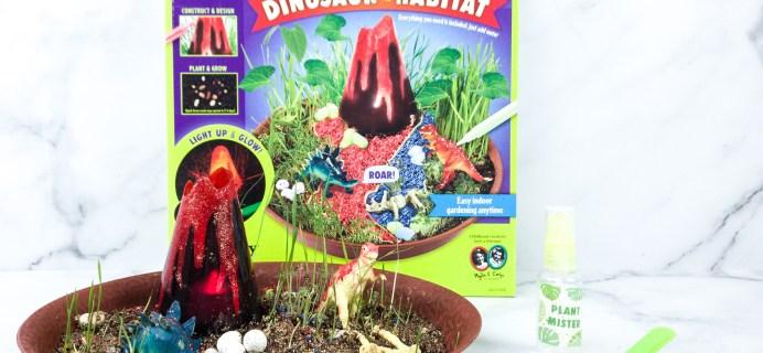 Amazon STEM Toy Club Review – 5 to 7 Years: DINOSAUR HABITAT