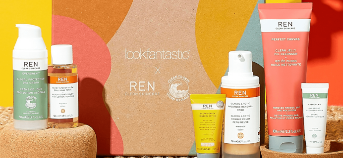 Lookfantastic x REN Skincare Limited Edition Beauty Box Available Now + Full Spoilers!