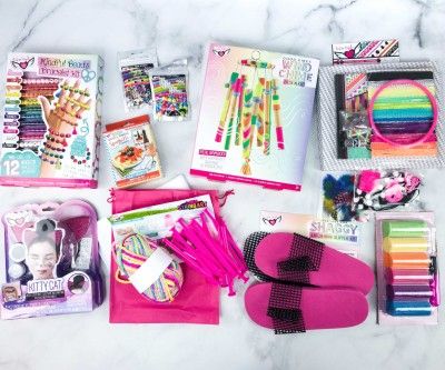 Craft Box by Fashion Angels Summer 2020 Subscription Box Review + Coupon