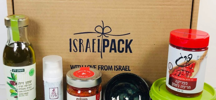 Israel Pack May 2020 Subscription Box Review + Coupon!