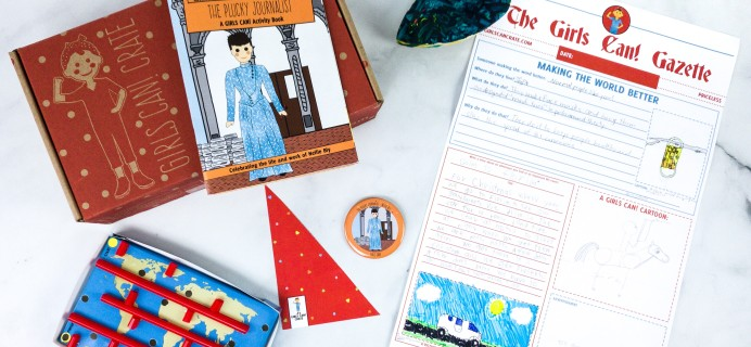 Girls Can! Crate Subscription Box Review + Coupon – THE PLUCKY JOURNALIST