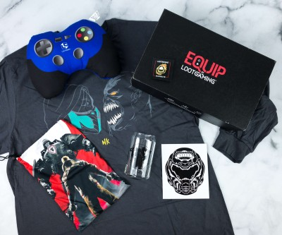 Equip by Loot Gaming April 2020 Subscription Box Review  – COMBAT