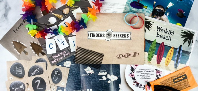 Finders Seekers Subscription Box Review + Coupon – HAWAII