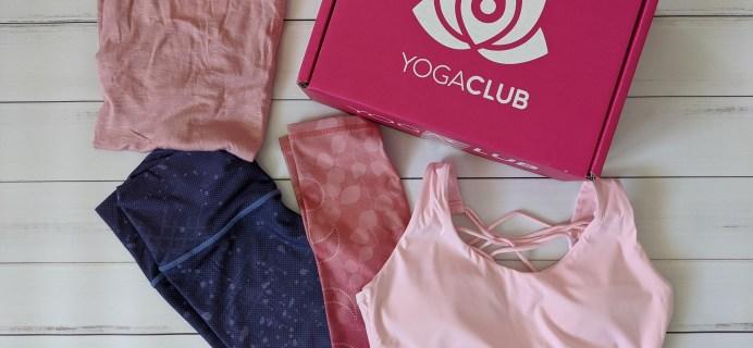 YogaClub Subscription Box Review + Coupon – May 2020