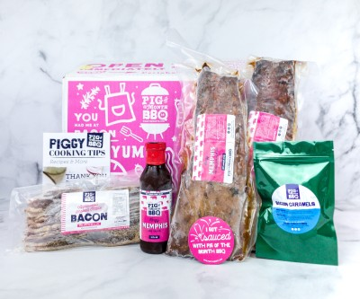 Pig of the Month BBQ of the Month Club May 2020 Subscription Box Review + Coupon