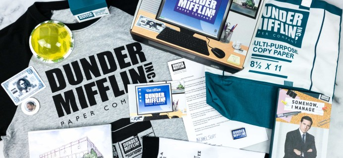 The Office Subscription Box Spring 2020 Subscription Box Review