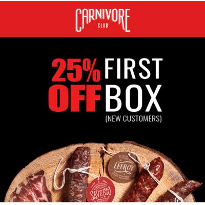 Carnivore Club Memorial Day Sale: Get 25% Off!