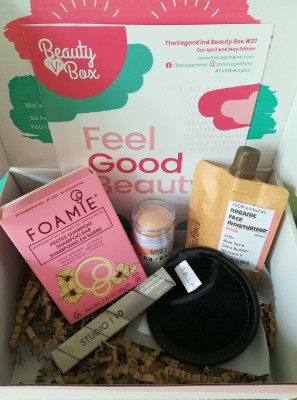 The Vegan Kind Subscription Beauty Box Review + Coupon – Box #28 June and July 2020