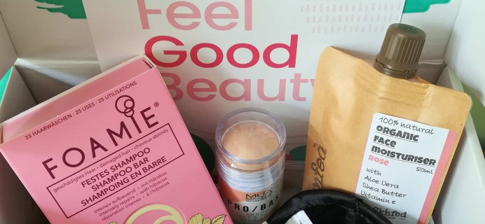 The Vegan Kind Subscription Beauty Box Review + Coupon – Box #29 August and September 2020