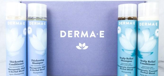 Derma-E HAIR CARE Collection Review