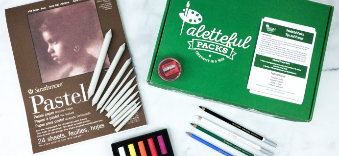 Paletteful Packs Review + Coupon – REMBRANDT SOFT PASTELS